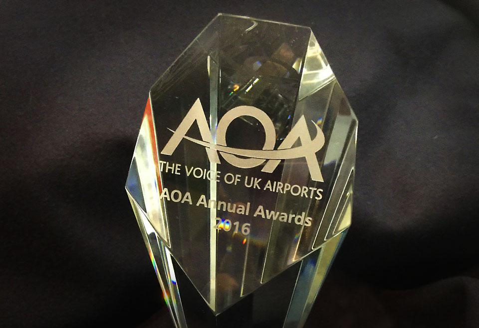 AOA Award Trophy